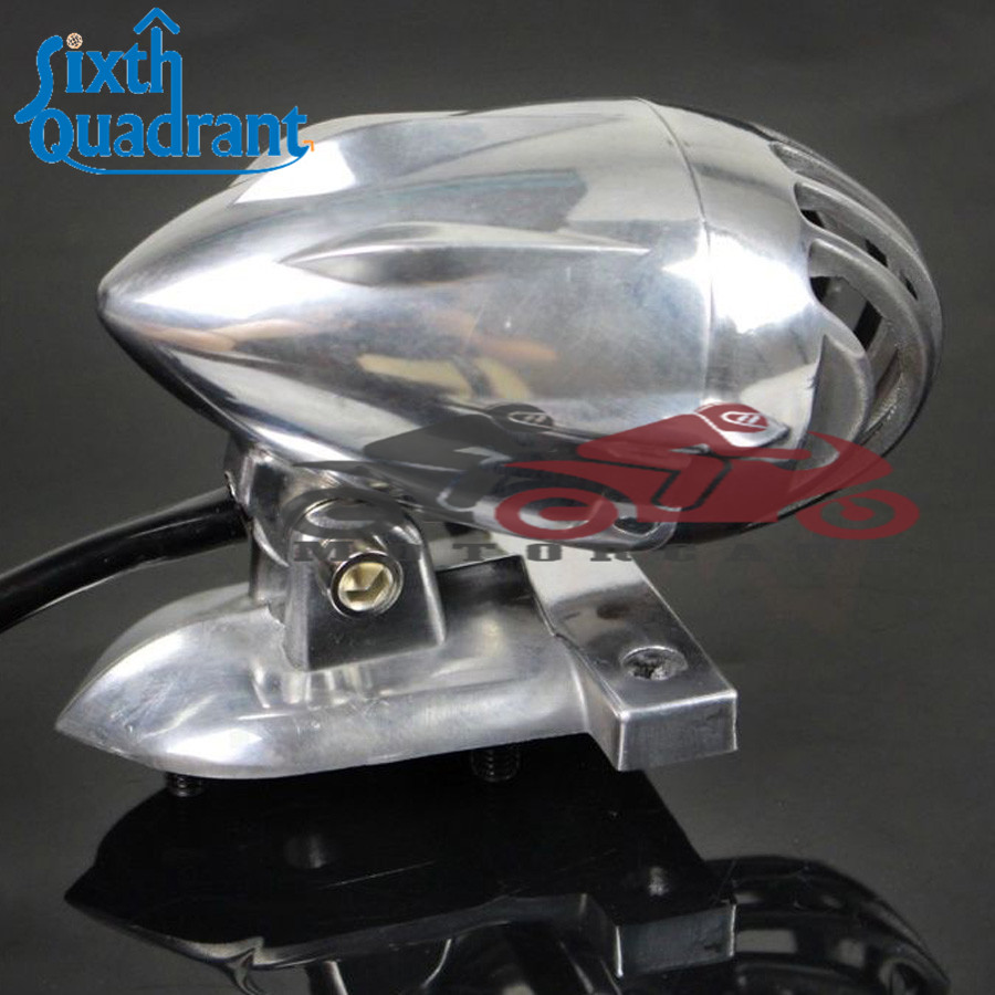 Full Metal Vintage Motorcycle License Plate Mount Bullet Grill Tail ...