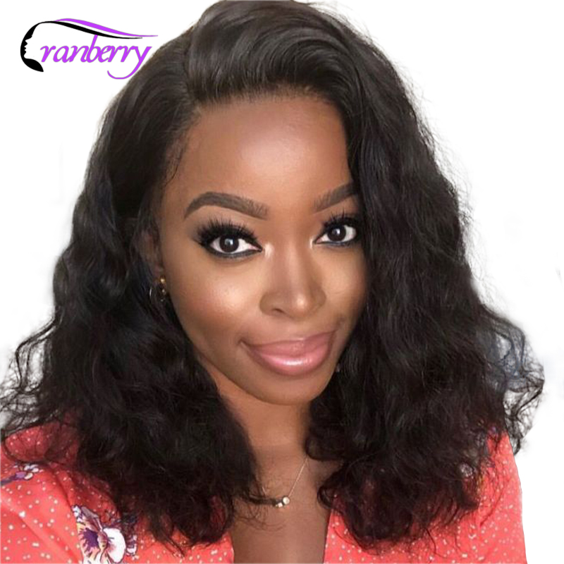 Cranberry Hair 13X4 Lace Front Wig Bob Lace Front Wigs Short Lace Front Human Hair Wigs
