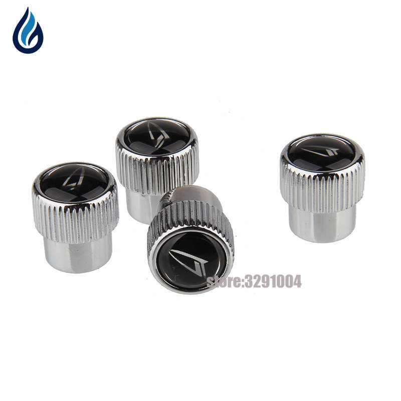 Car Styling Wheel Tire Valve Stems Caps Cover For Daihatsu ESSE Boon Copen Rocky Yrv Sonica Terios Sirion Materia Feroza Mira