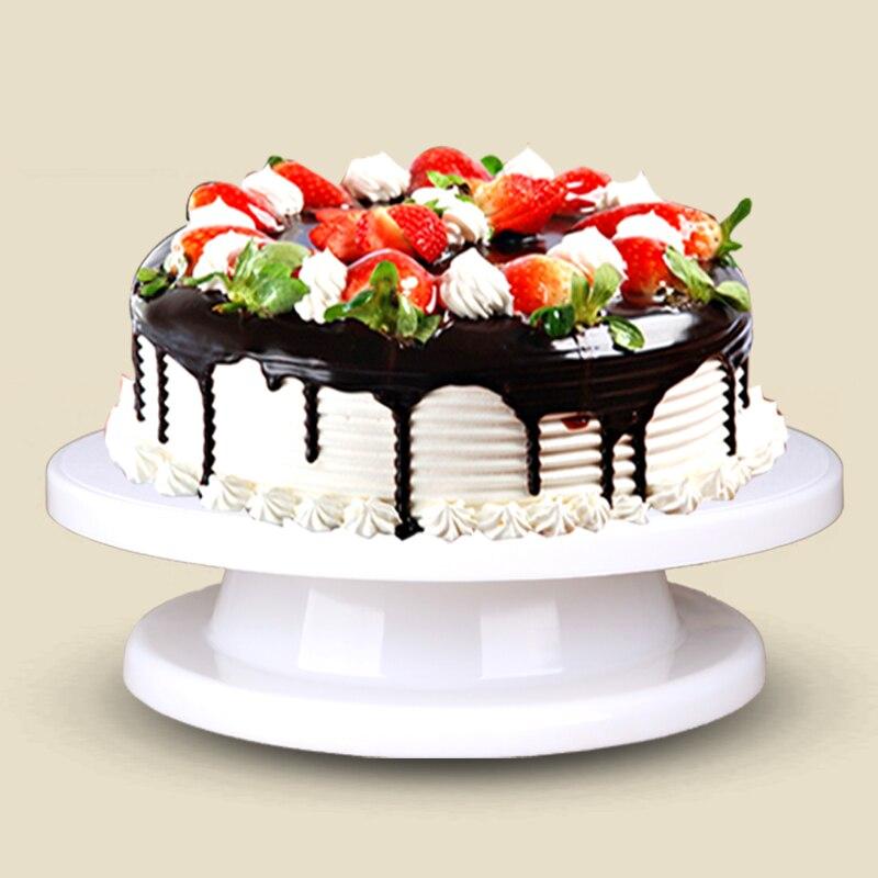 Aliexpresscom  Buy 1 pc Rotating cake decorating stand hot sale Revolving sugarcraft platform