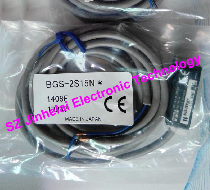 New and original BGS-2S15N OPTEX   PHOTOELECTRIC SWITCH  Photoelectric sensor new and original bgs 2v50n optex photoelectric switch photoelectric sensor npn output