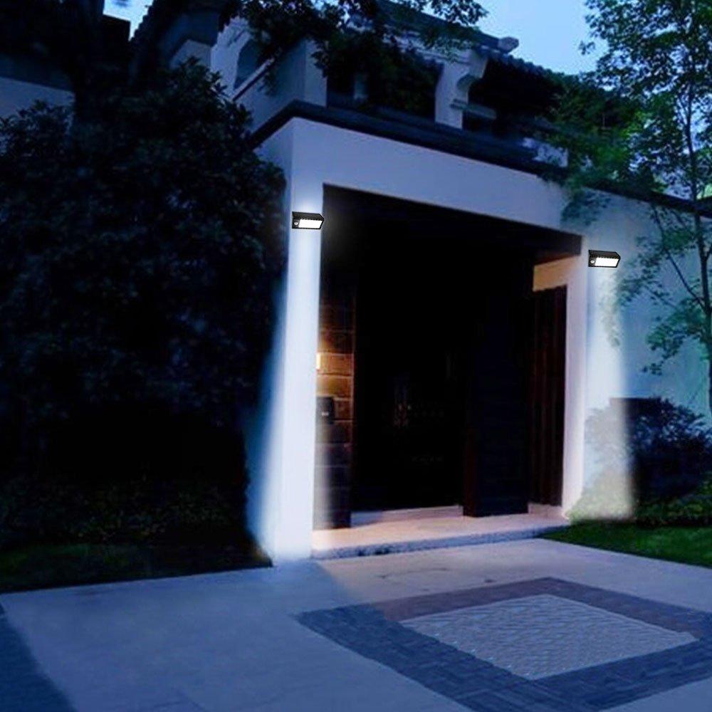Luces exterior jardin iluminacion al aire libre luces exterior jardin lampara exterior para - Luces exterior solares ...