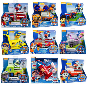 Image 1 - Genuine Spin Master Paw Patrol RESCUE RACERS VEHICLE Skyes High Flyin Copter Ryders Rescue ATV Vehicle and Figure children toy