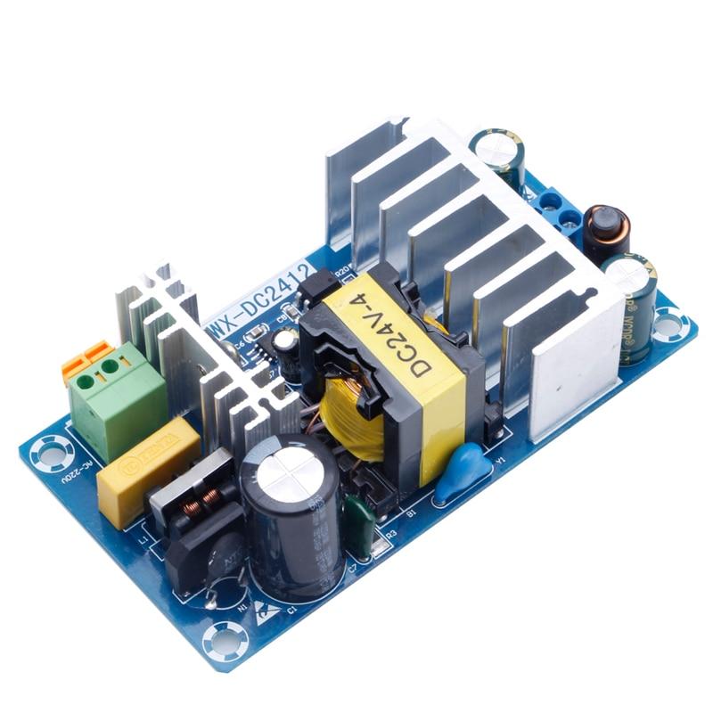 Para módulo de fuente de alimentación AC 110v 220v a DC 24V 6A AC-DC Promoción de placa de alimentación conmutada Fuente de alimentación de tira impermeable ultrafina LED IP67 45 W/60 W/100 W/120 W/150 W/200 W/250 W/300 W transformador 175V ~ 240V a DC12V 24V