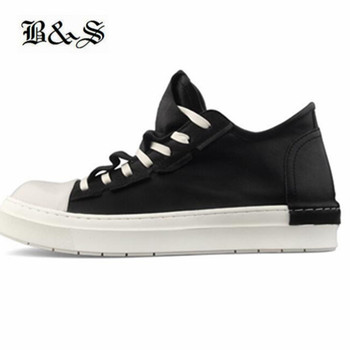 New Designer genuine Leather hip hop sneaker falt trainer ankle boots Cool personalized fold over leather shoes
