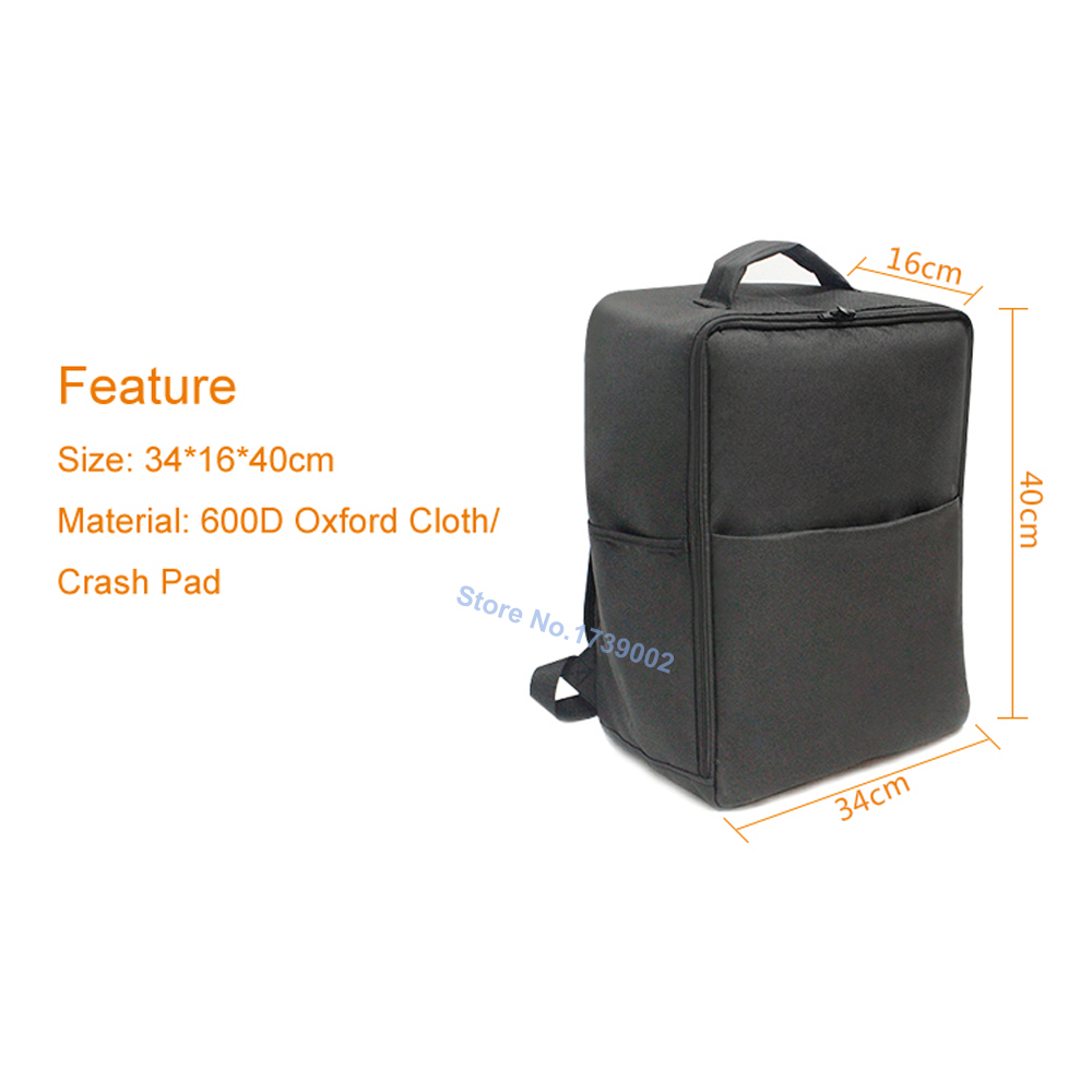 Oxford Cloth Large Capacity Carrying Baby Stroller Accessories Transport Storage Bag for Pockit 2S 3S Stroller Backpack