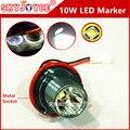 2X10 W LED MARKER E39 marker led ángel anillo de halo ojo E39 E53 E60 E63 E64 E66 E87 E83 car styling accesorios drl xenon blanco led