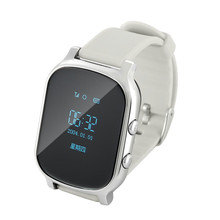T58 Kids Ederly Adult GPS Tracker Smart Watch Google Map SOS Safety Call Tracker Locator Clock Anti-Lost Monitor Smartwatch