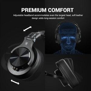 Image 2 - OneOdio A70 bezprzewodowe słuchawki Bluetooth na ucho profesjonalne Studio nagrań Monitor przewodowy zestaw słuchawkowy DJ z mikrofonem