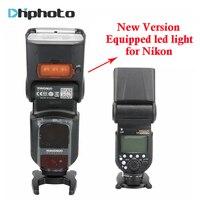 YONGNUO YN968N Wireless Flash Speedlite TTL 1/8000 Được Trang Bị ĐÈN LED cho Nikon DSLR Máy Ảnh Tương Thích với YN622N YN560