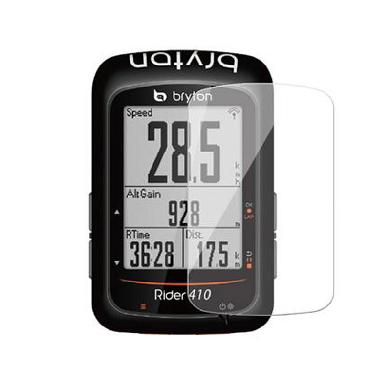 Tempered Glass Clear Protective Film For Bryton Rider 410 405 450 R405 R410 R450 GPS <font><b>Bike</b></font> Ride <font><b>Computer</b></font> Screen Protector Cover image