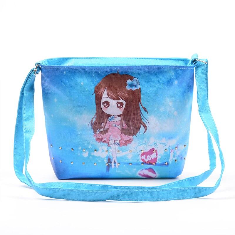 Fashion cute cartoon canvas single shoulder bag children messenger bag Women font b kids b font