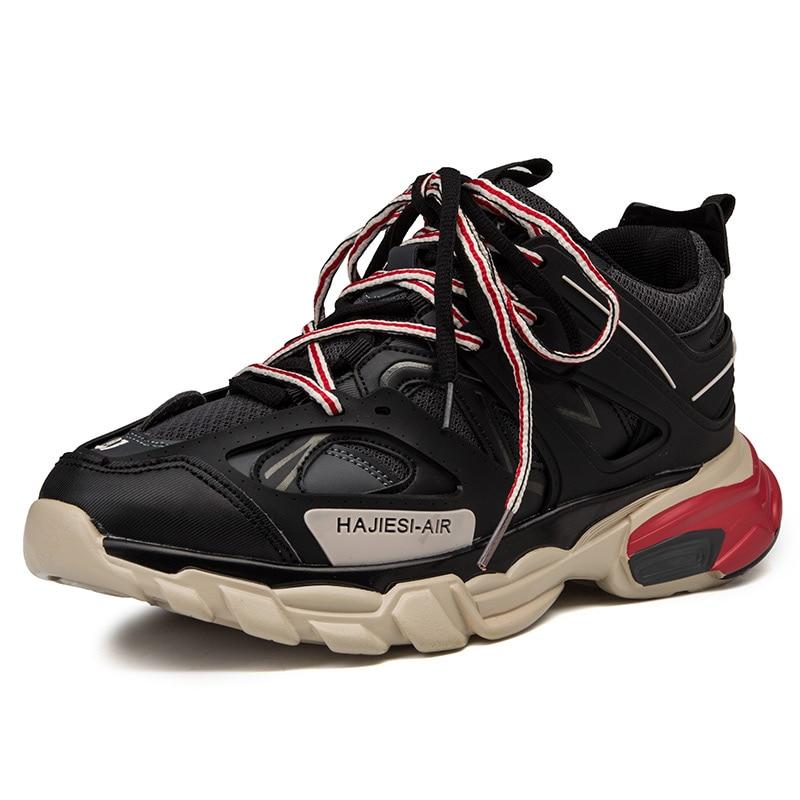 Nouveaux hommes chaussures de course en plein air balenciaca chaussures air vapormax balencia cuir respirant baskets zapatillas hombre deportiva