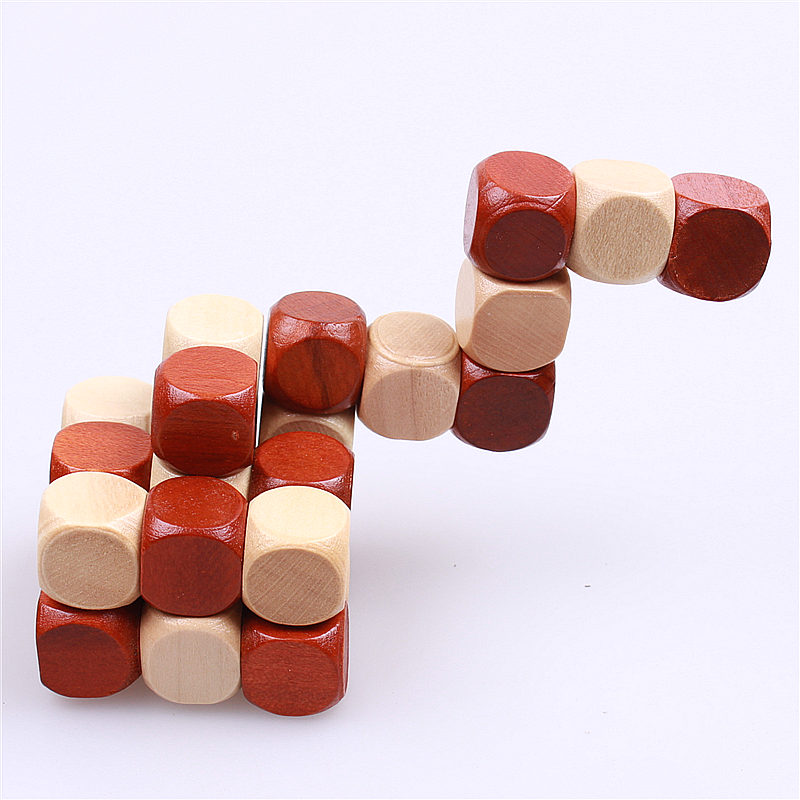 NEW 3D WOODEN EDUCATIONAL TOYS JIGSAW PUZZLE LNBAN KONGMING - Ойындар мен басқатырғыштар - фото 3
