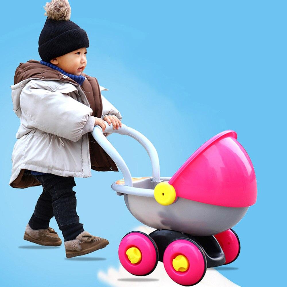Cordiale Anti-ribaltamento Di Apprendimento In Piedi A Piedi Del Bambino Trolley Multi-funzione Con La Musica Nuovo Bambino Passeggino Camminatore Giocattolo