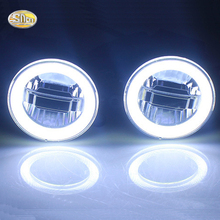цена на SNCN LED Daytime Running Light + Fog Lamp + angle Eyes for Peugeot 307 2008 2009 2010 2011 2012 2013