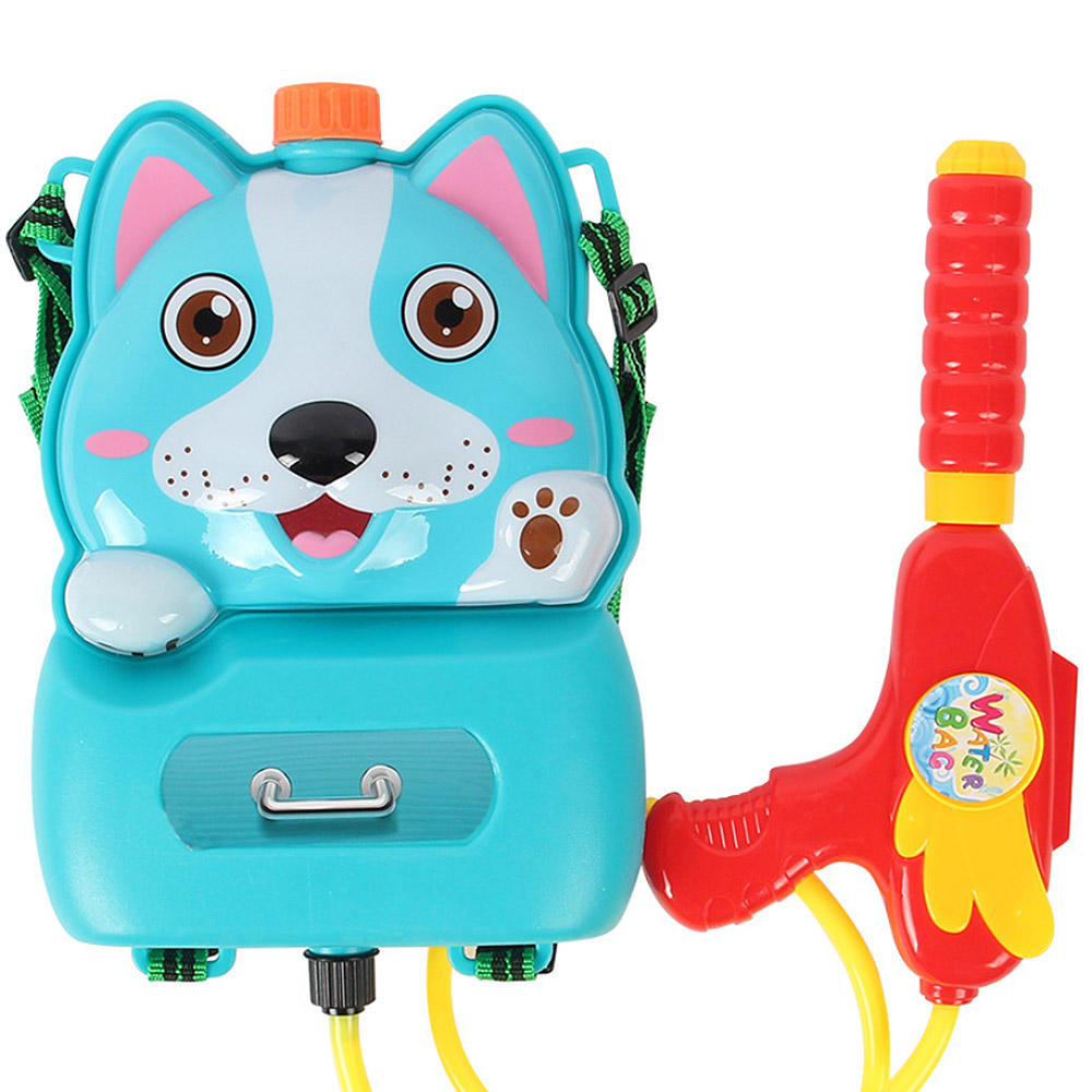 Kids Beach Toys Pressure Water Sraper Cartoon Toy Backpack Water Toy For Kids