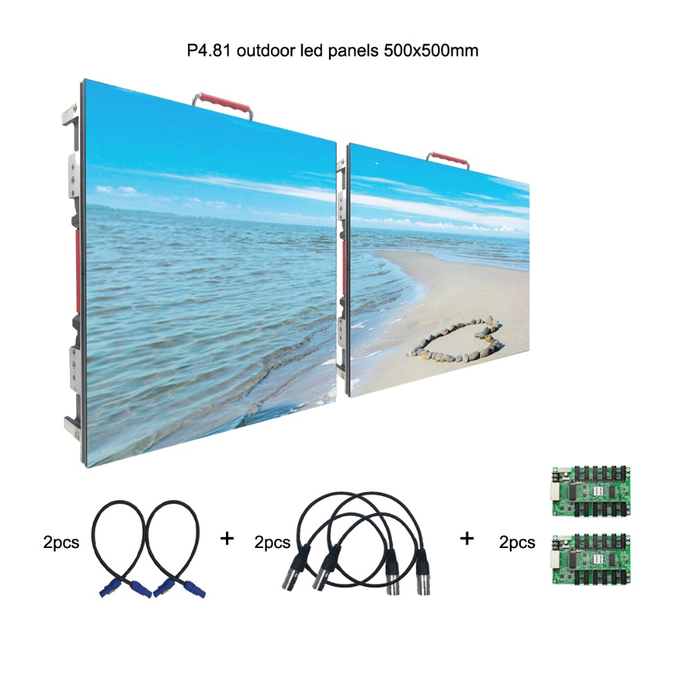 Outdoor RGB P4.81mm Led Video Wall Panel Rental Led Display Screen For Stage Concert Advertising