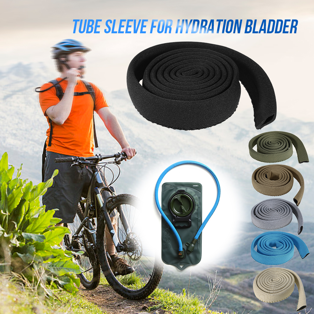 Water Bladder Tube Cover Hydration Tube Sleeve Insulation Hose Cover Thermal Drink Tube Sleeve Cover Outdoor Tools-in Outdoor Tools from Sports & Entertainment