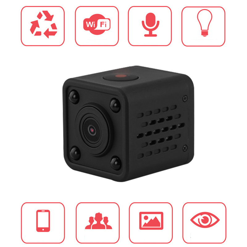 q9 wifi wireless camcorder mini pocket camera 720p hd handhold digital cameras portable dv. Black Bedroom Furniture Sets. Home Design Ideas