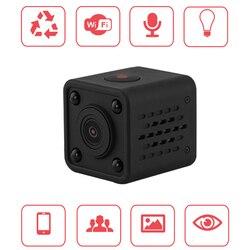 Q9 WiFi Wireless Camcorder Mini Pocket Camera 720P HD Handhold Digital Cameras Portable DV Recorder 120 Degree Angle View Camera