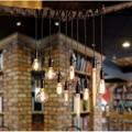 T Retro Black Pendant Light LOFT Creative Restaurant Bar Lamp Single American industrial Home Lighting Living Room Coffee Shop