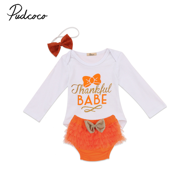 c9acf9f402e8 Cute Baby Outfit Sets Baby Girl Autumn Clothes Short Sleeve Baby Letter  Romper +Tutu Skirt +Headband Party Bebes Clothing Sets