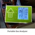 O envio gratuito de uso pessoal doméstico PM2.5 interior PM 10 monitor de qualidade do ar medidor de teste detector covt formaldeído pm2.5 poluição do ar