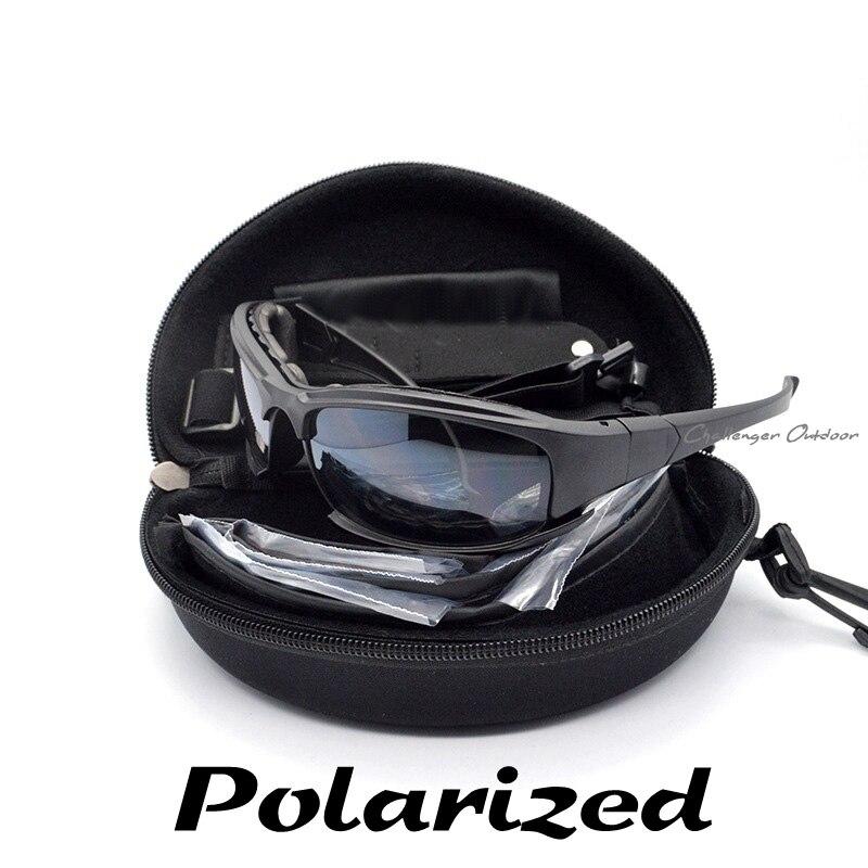 Prix pour Polarisee Daisy X7 lunettes de Soleil De L'armée, militaire Lunettes 4 Lentille Kit, Jeu de guerre Tactique En Plein Air Hommes de Lunettes