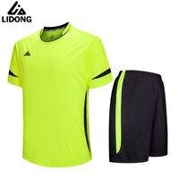 Kids soccer jersey sets survetement football 2017 kit sports jerseys uniforms shirts shorts maillot de foot DIY Logo number name
