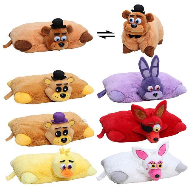 17 12inch Five Nights At Freddy S Plush Pillow Fnaf Golden