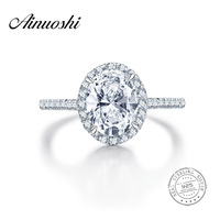 Sona Ring Bands 2CT Oval Cut Wedding NSCD Ring Synthetic Diamond Engagement Ring Bridal Women 925