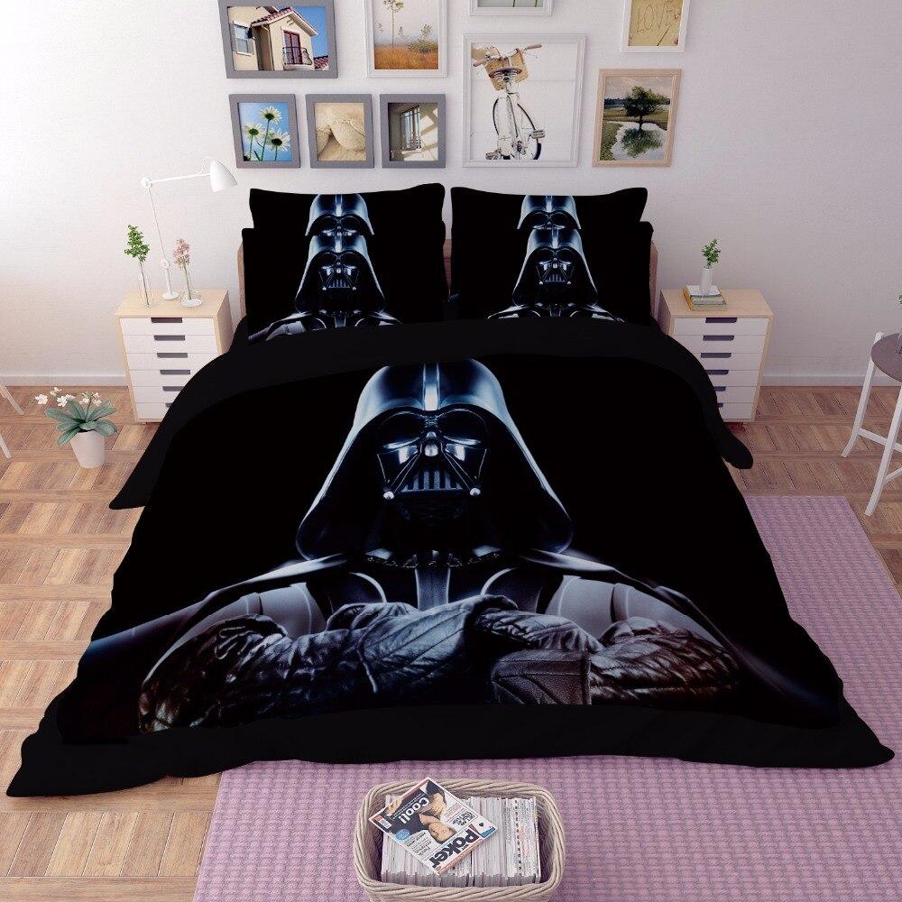 Star Wars 3D Ensemble De Literie housse de Couette Jumeau complet reine roi Beau motif Réel réaliste ensembles de lit de Bonne qualité taie d'oreiller