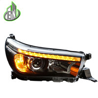 Car Styling Head Lamp For Toyota Hilux Headlights New Revo LED Headlight Vigo DRL Daytime Running Light Bi Xenon HID Accessories