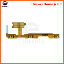 For Huawei Honor 9 Lite Power Volume Flex Cable Side Key Button On Off Switch Flex Cable for Honor9 Youth Repair Spare Parts repair parts replacement left right button volume flex cable set for psp go black green