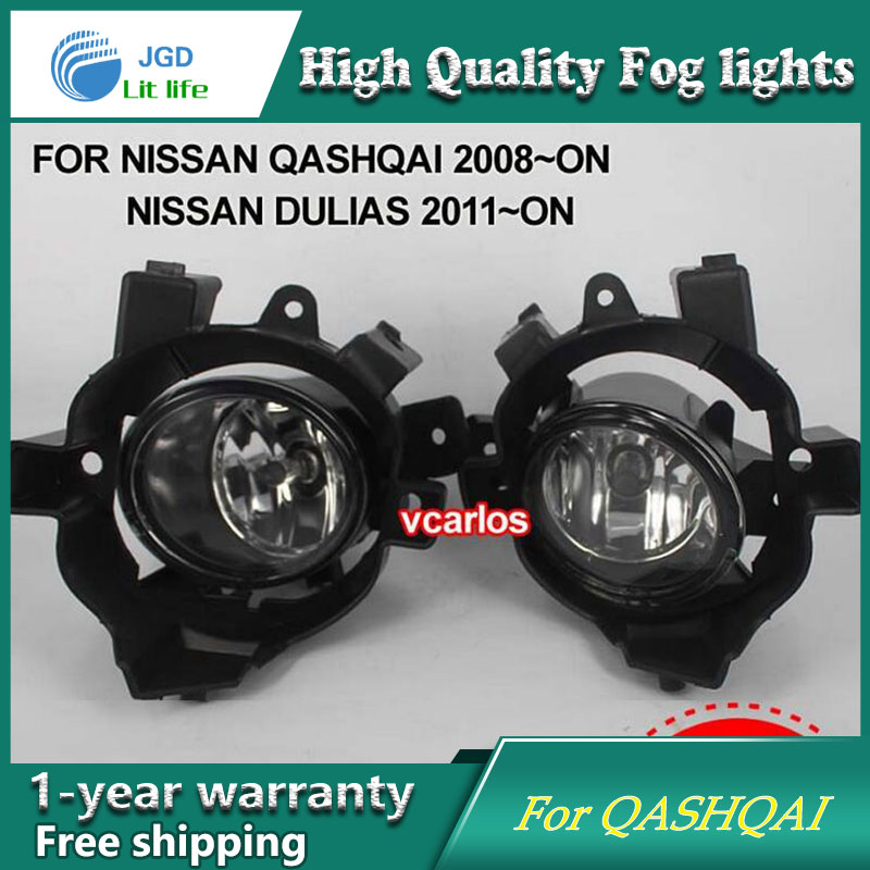 2PCS / Pair Halogen Fog Light For Nissan Qashqai 2008-ON High Power Halogen Fog Lamp Auto DRL Lighting Halogen Headlamp 2pcs pair halogen fog light for toyota avanza 2007 high power halogen fog lamp auto drl lighting led headlamp