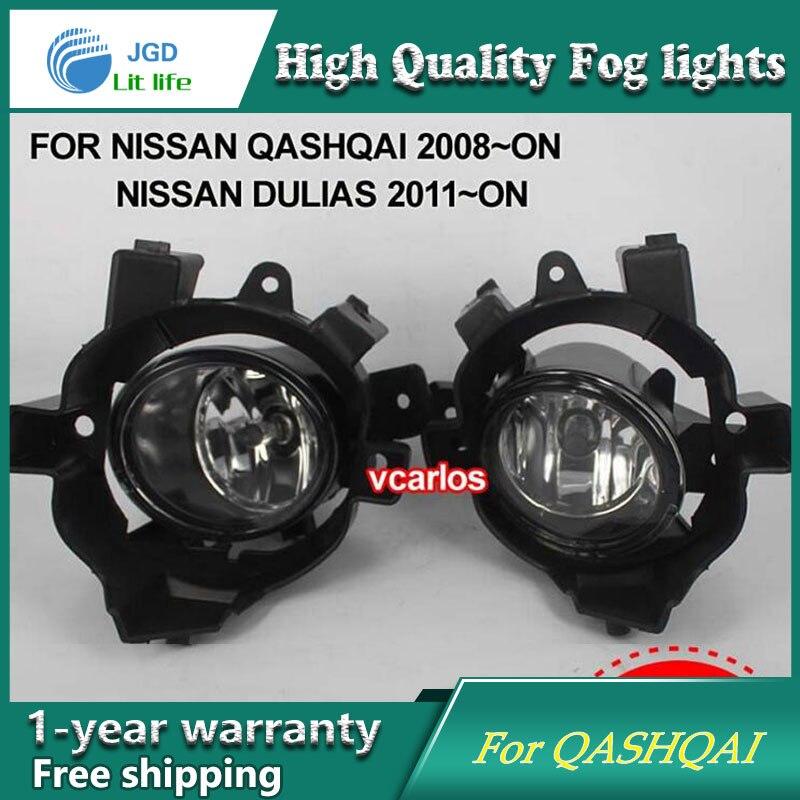 Phare antibrouillard halogène 2 pièces/paire pour Nissan Qashqai lampe antibrouillard halogène haute puissance 2008-ON