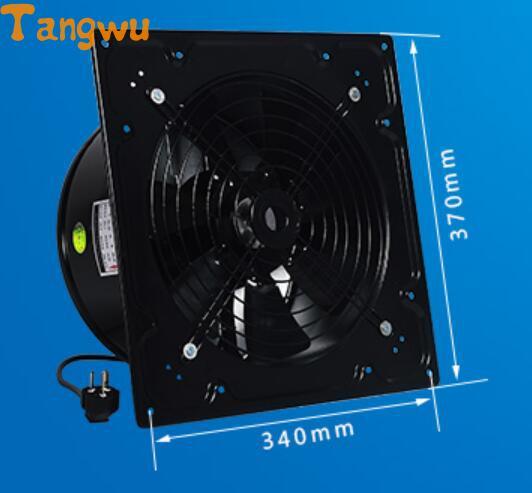 Ventilateur pièces haute vitesse ventilateur industriel échappement cuisine type de mur fort évacuation des fumées 12 pouces ventilateur d'échappement nouveau