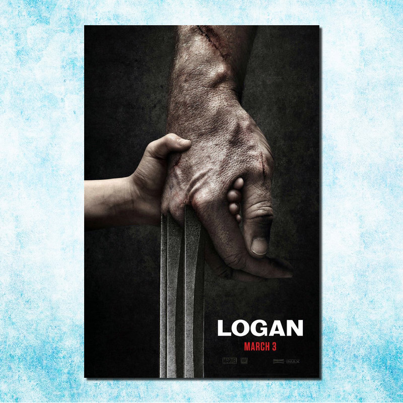 The Wolverine 3 Logan film de artă de mătase Poster Hugh Jackman 13x20 24x36 inchi Imagine pentru camera Decor (mai mult) -2