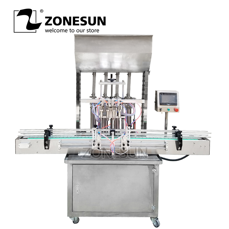 ZONESUN Automatic Beverage Production Line Can Beer Honey Paste Oil Filling Machine Supplier