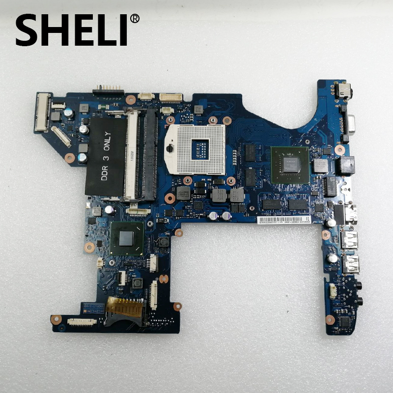 SHELI FOR Samsung RC730 Laptop Motherboard Mainboard BA92-08896A BA92-08896B  HM65 DDR3 100% Tested Fast Ship