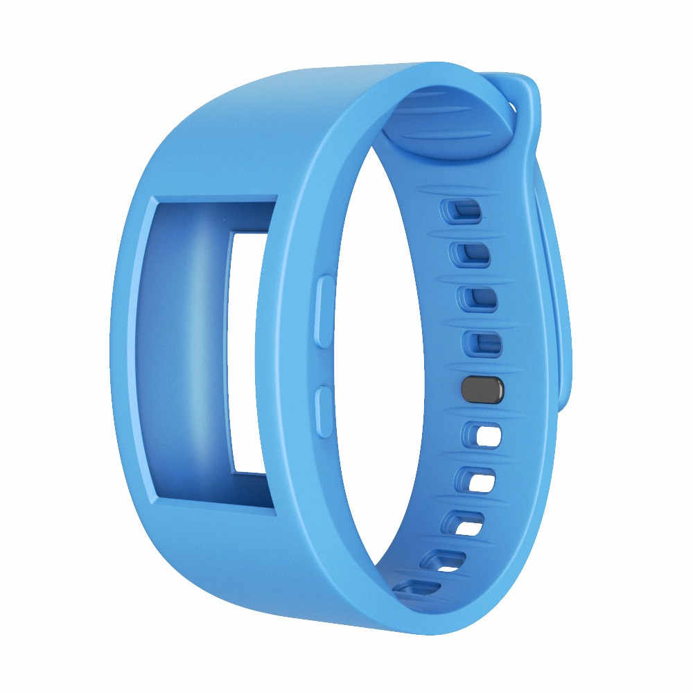 ספורט חכם שעון להקות רך סיליקון צמיד החלפת גדול גודל שעון יד רצועת לsansung Gear Fit 2/Fit 2Pro