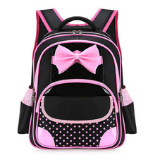 634711f83c22 Hot New 2018 PU Leather Princess Girls School Bag Good Quality Children  School Bags Kids Satchels