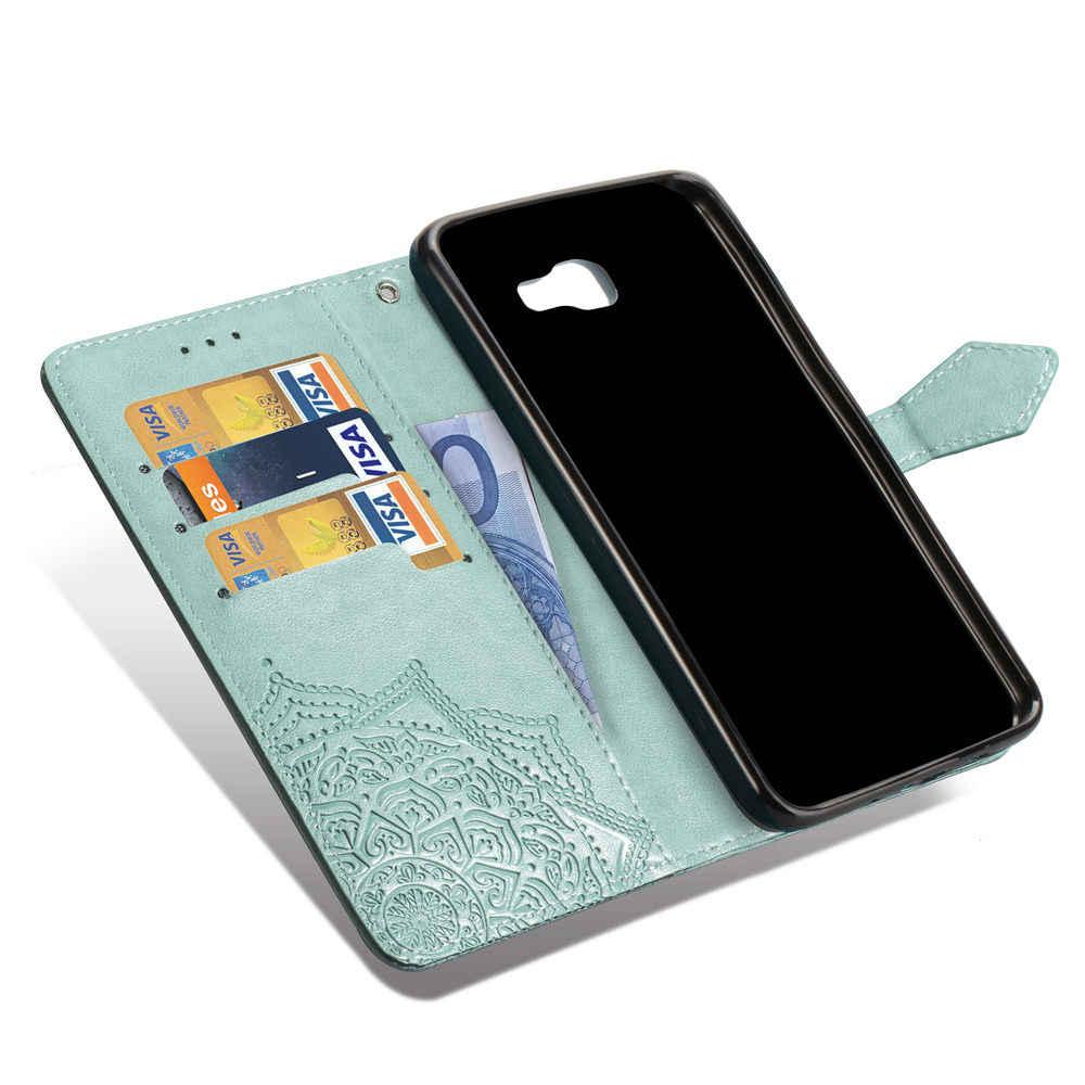 Откидной Чехол-кошелек с подставкой для Samsung Galaxy J2 J3 J5 J7 J4 J6 2017 2018 Prime кожаный чехол-книжка для телефона