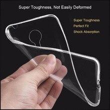 Ultrafinos Soft Case Para Meizu Pro 6 Pro 5 MX5 M2 nota M3 Nota Tampa Transparente de Sílica Gel TPU Transparente Telefone Shell casos