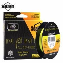 New Good Quality Nunatak 300M 4 Strands Braided Fishing Line Multifilament PE 4 - 10 LB Diameter 0.07-0.12mm 2 Colors