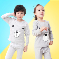 Kids Cotton Underwear Suit Giraffe Unisex Sleepwear Trousers Cartoon Suit Kids Pajamas Next Girl Clothing Style for 2-10 yrs