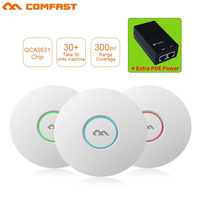 COMFAST 300Mbps Wifi access point Networking router 802.11b/g/n Indoor Ceiling wireless AP Wi fi Router 48 POE openWRT ddwrt AP