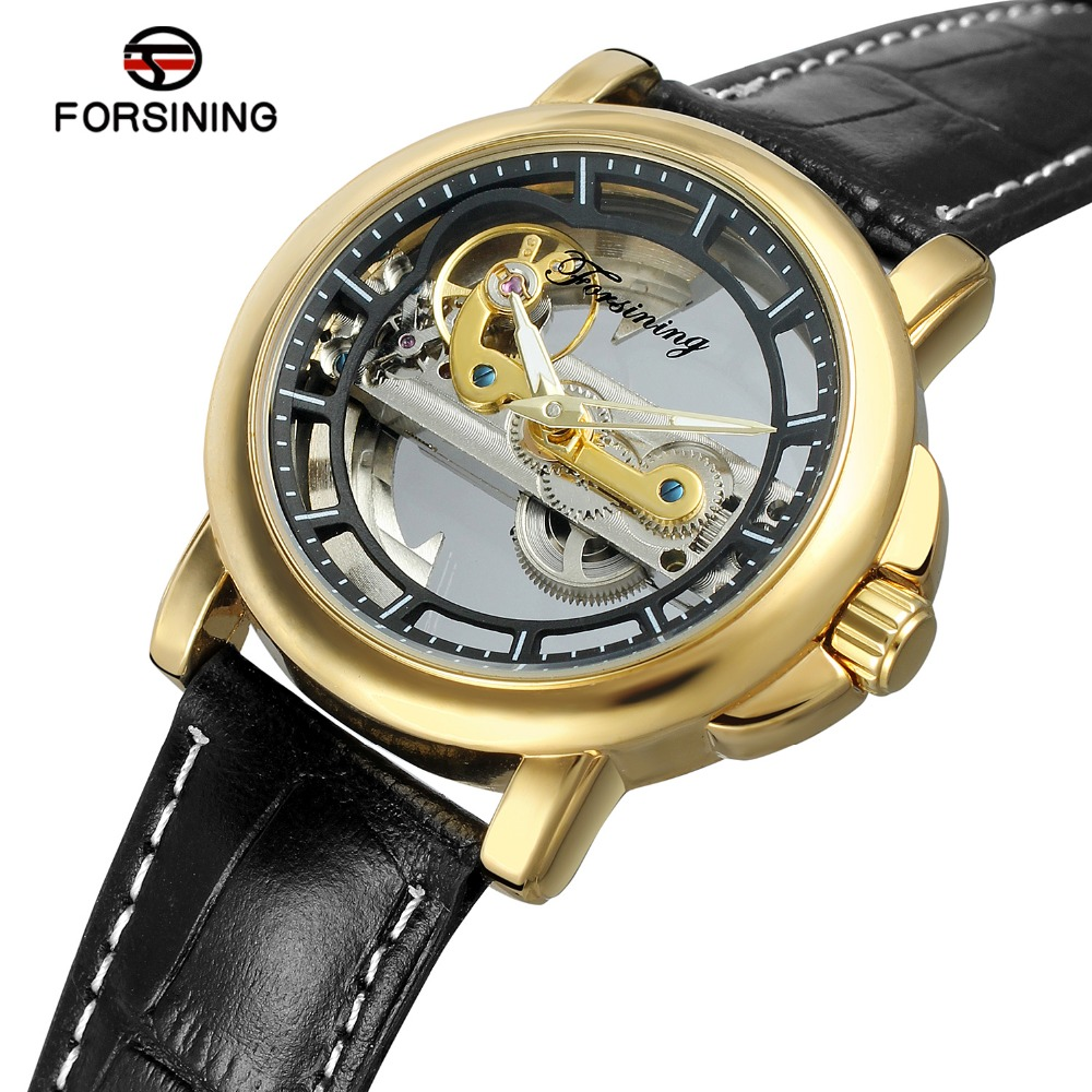 FORSINING Mens Automatic Mechanical Watch Fashion Causel Leather Band Skeleton Self Winding Batteryless Wrist Watch for SaleFORSINING Mens Automatic Mechanical Watch Fashion Causel Leather Band Skeleton Self Winding Batteryless Wrist Watch for Sale
