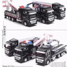 1:48 масштаб металлическая модель грузовика, высокая моделирования сплава модель грузовика, спасательный грузовик кран грузовик транспорт
